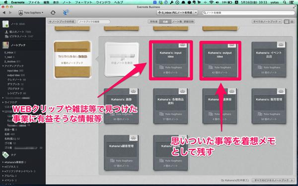 input/outputノートブック