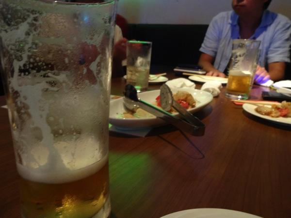 ビールとつまみ