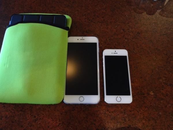 iPhone6+とiPhone5S