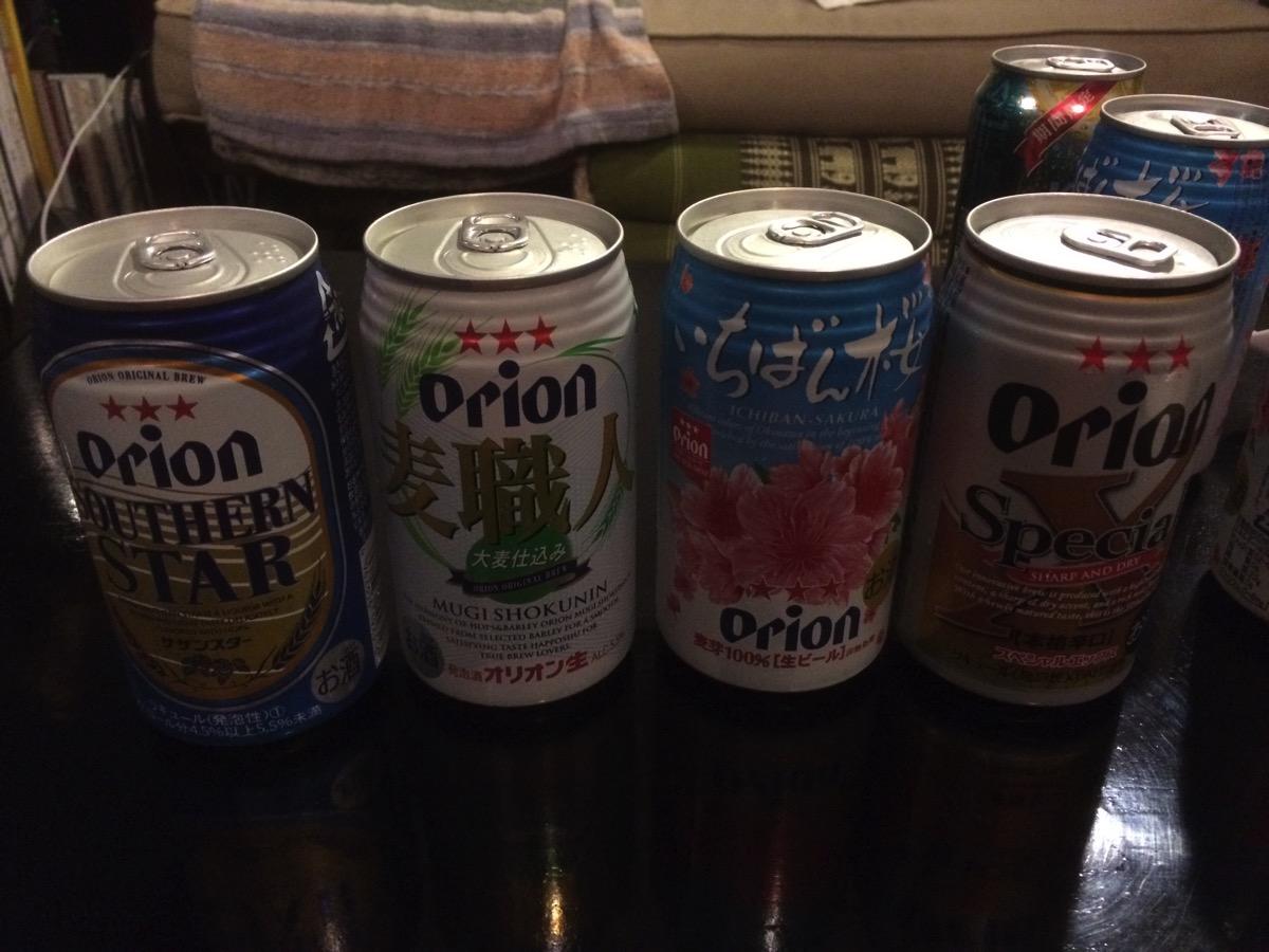 缶ビールでも美味しく飲める