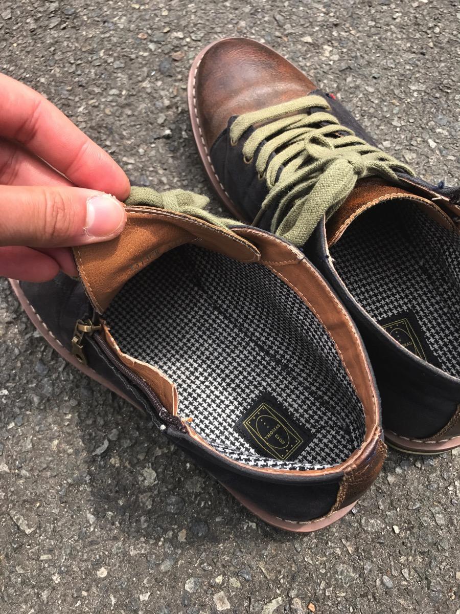 靴の中もイケメン