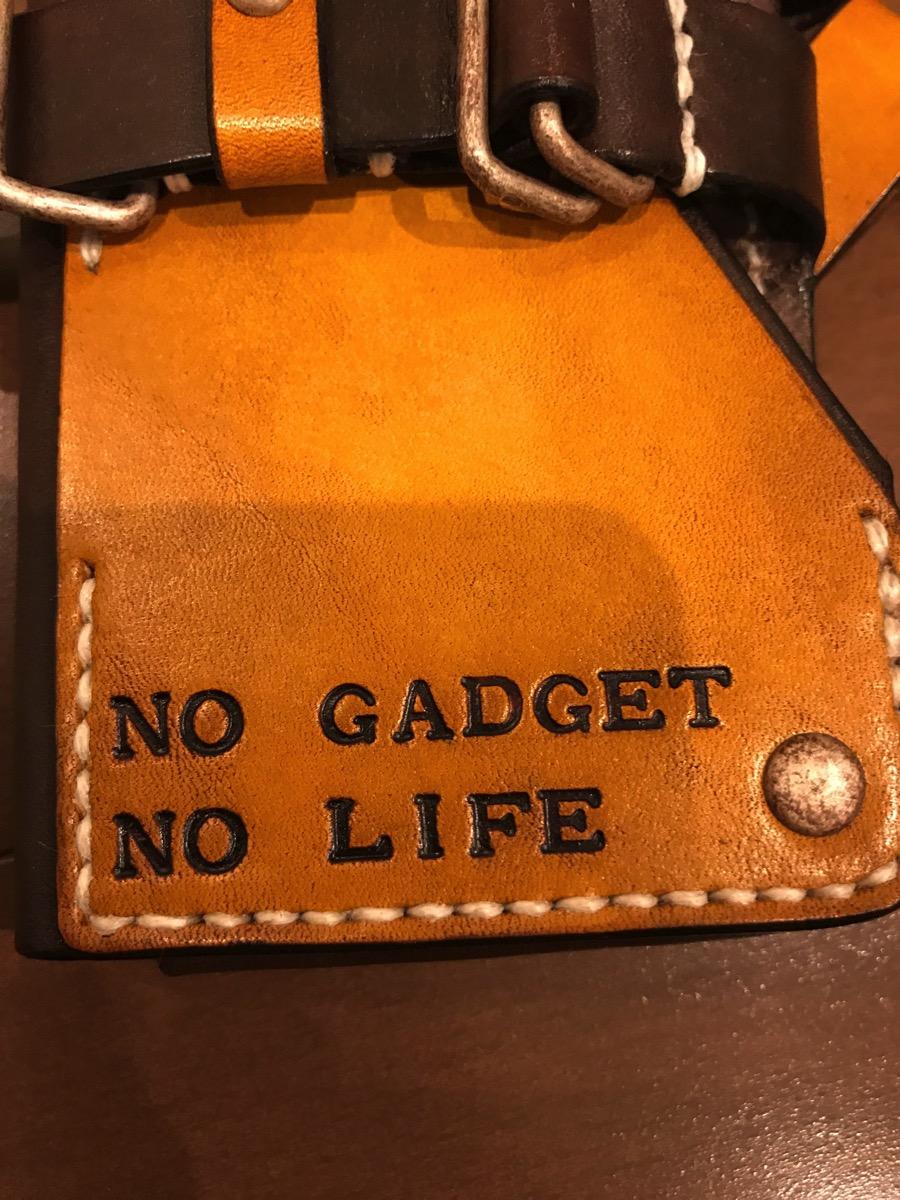 NO GADGET NO LIFE