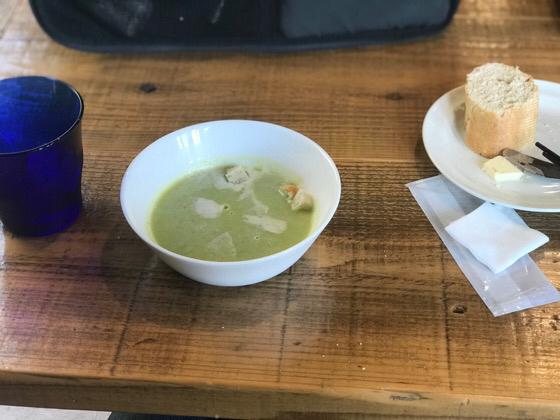 枝豆のスープ