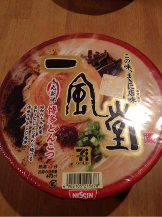 一風堂カップ麺