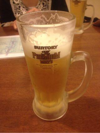 ビールはサントリーのプレミアム
