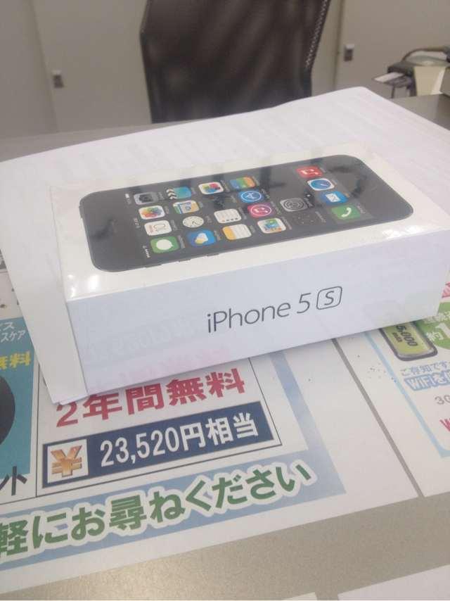 iPhone5sと初対面