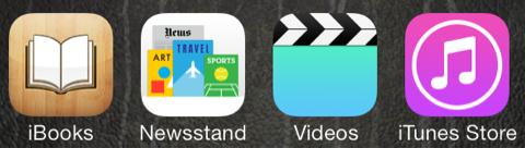 純正アプリたち