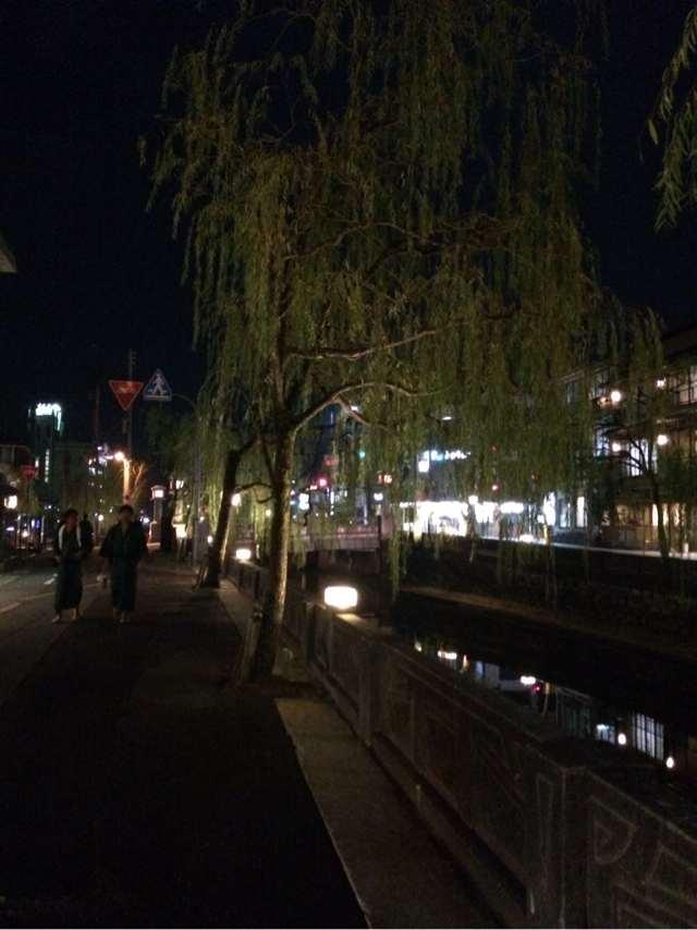 岡山県倉敷市の美観地区にも似た雰囲気