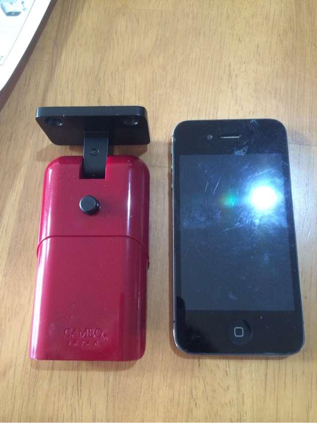 大きさはiPhone 4sと同じくらい