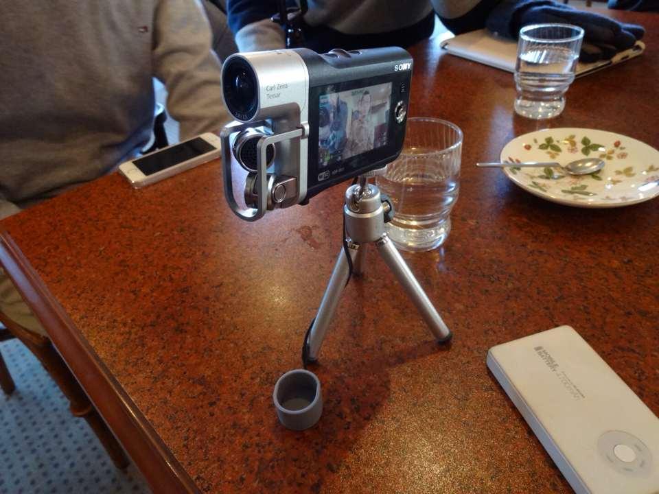 ソニー製ビデオカメラ