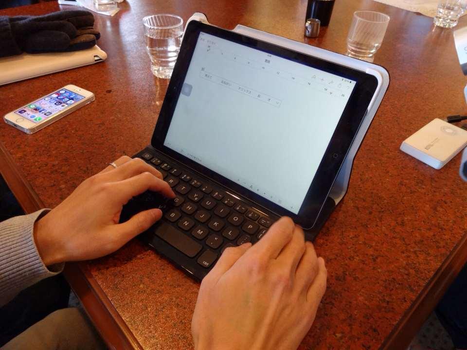 iPad用キーボード