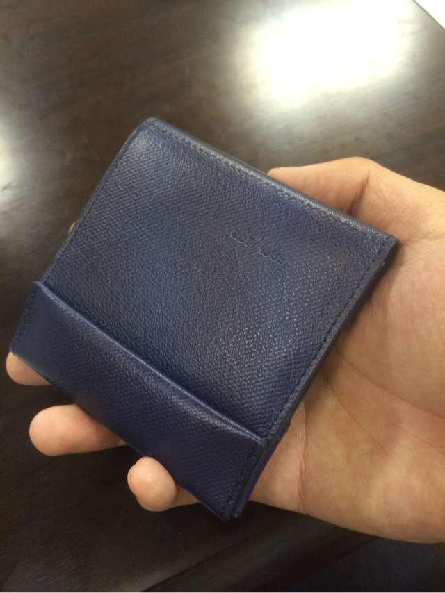 abrAsus薄い財布 左利き用
