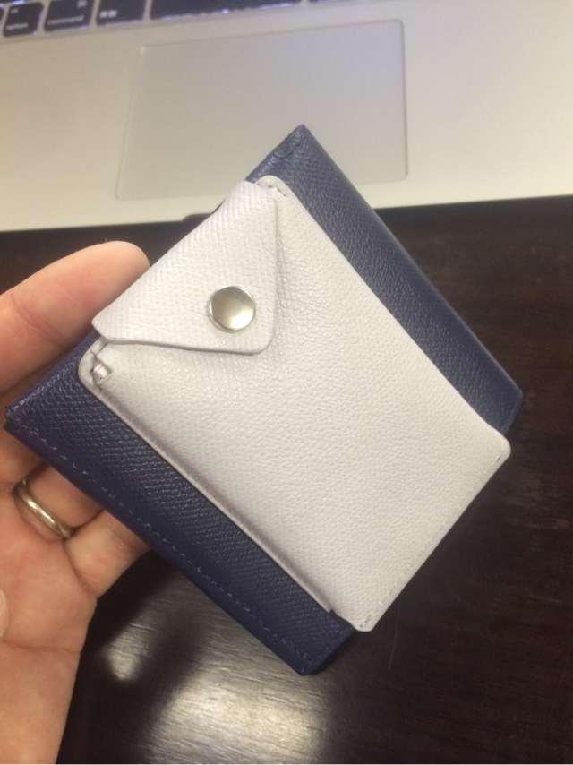 薄い財布と合体