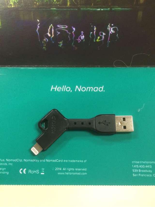 NomadのLightningケーブル